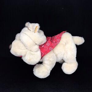 "Vintage Plush Dog Krinkles Puppy Wearing Bandana By Commonwealth 15"""