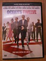 Film DVD - Ocean's Twelve - George Clooney, Julia Roberts, Brad Pitt, Matt Damon