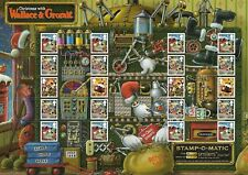 2010 Gb. - Smiler Sheet - Christmas With Wallace & Gromit - Full Sheet - Mnh.