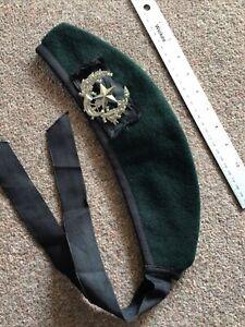 Cameronians Glengarry Rifle Green