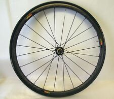 Mavic Ksyrium PRO CARBON SL Tubular bicicletta da corsa-Ruota posteriore con conti COMP Vectran