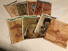 Leather Craftsmen 8 magazines 1965.1966,1967 leather making Reduced
