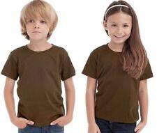 T-shirts et hauts marrons pour garçon de 10 ans