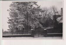 Oude Postkaart CPA  Photo Fotokaart Château de Tarcienne Walcourt Sous la Neige