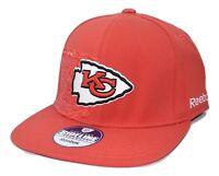 b49a3af6252 Kansas City Chiefs Reebok NFL Football Dual Threat Stretch Fit Cap Flat  Bill Hat