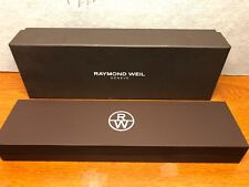 Unused 275mm x 90mm x 55mm Raymond Weil Watch Box Set Double