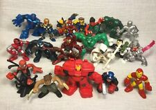 Marvel Super Hero Squad Figure Lot Avengers Xmen Wolverine Hulk Cyclops Venom