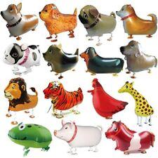 Walking Animal HELIUM Balloon Dog Deer Lion Tiger Kids Toy Birthday Party Decor