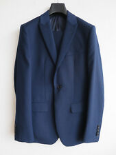 Reiss suit, Youngs, blue, two piece, jacket 36, trousers 30, wool blend, EXC CON