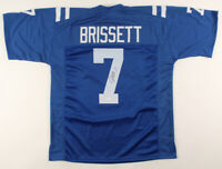 Jacoby Brissett Signed Indianapolis Colts Football Jersey ~ JSA COA Authentic! ~