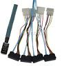 1M Mini SAS SFF-8643 to 4 SAS 29pin SFF-8482 Data Server 12GB/S Cable with Power