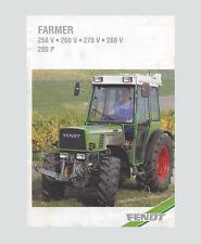 Fendt Farmer 250 V 260 V  270 V  260 P  270 P  280 P Schlepper Original