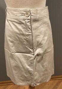 White Stag 26W Stretch Khaki Skort/Skirt/Shorts W/Pockets