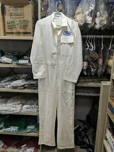 Men's vintage Worklon IBM technician coveralls jumpsuit size Small
