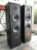 Acoustic Solutions AV-120 Floor Standing Speakers 130/190W Excellent Condition