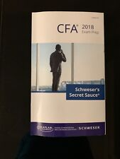 CFA Level III Schweser's Secret Sauce 2018