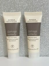 2x Aveda Damage Remedy Hair Repair 25ml Each Travel Size new