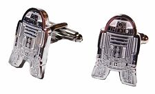 Star Wars R2D2 Character Metal/ Enamel Finish CUFFLINKS