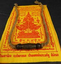 Buddha Sacred TAKRUT BRACELET blessed by Buddhist Monks + PHA YANT Temple cloth
