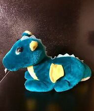 "PUFF THE MAGIC DRAGON 1987 Dakin Vintage Plush 16"" Stuffed Animal Toy"