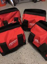 Brand New X4 Milwaukee Heavy Duty Contractors Bag 11x11x10