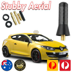 Antenna Aerial Stubby Bee Sting for Renault Megane Sport RS265 Black Carbon 4 CM