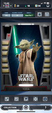 Topps Star Wars Card Trader 2020 Vader Black Tier 7 Base Yoda