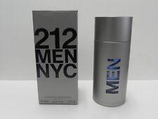 212 Men NYC By Carolina Herrera 3.4 OZ 100 ML Eau De Toilette Spray Box Sealed