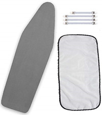 Balffor Standard Silicone Coating Ironing Board Cover and Pad - Scorching and -