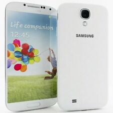 """5.0"""" Samsung Galaxy S4 GT-I9500 16GB 13MP 3G Android Cell Phone Unlocked White"""