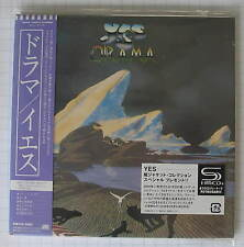 YES - Drama + 10 BONUS JAPAN SHM MINI LP CD NEU! WPCR-13524