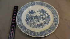 Vintage Blue and White China platter