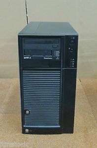 Intel SC5299DP 1x Xeon Quad E5320 1.86GHz 4GB 4x 750GB, Tape Drive -Tower Server