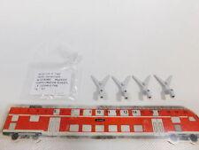 CH239-0,5# 4x Märklin H0 374080 Kupplungsdeichsel mit NEM für ICE, NEUW+1x OVP