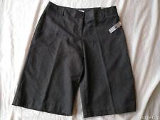 NWT- WORTHINGTON Modern Fit Black/White Buttoned Back Pockets Shorts, Size 12,