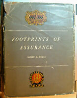 Footprints of Assurance by Alwin E. Bulau 1953 Hardcover First Edition Printing