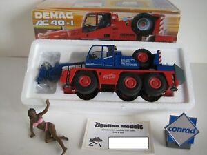 Demag AC 40-1 Camión Grúa Seeland #2093.26 Conrad 1:50 Emb.orig