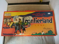 Walt Disney Frontier Land game 1955 Parker Brothers