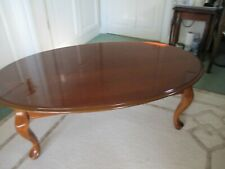 solid wood coffee table used