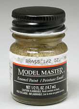 Testors Brass 1/2 oz Enamel Paint 1782 TES1782
