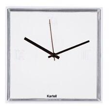 OrReloj de pared Tic & Tac Kartell diseño cuadrado blanco Tic Tac Philippe Stark