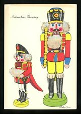 Costumes / Clothing postcard United Nations Doll Artist Curro Germany Nutcracker