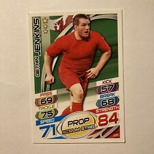 Topps Rugby Attax Card 2015 #147 Gethin Jenkins Wales Prop Scrum Star