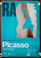 PABLO PICASSO original exhibition poster Royal Academy