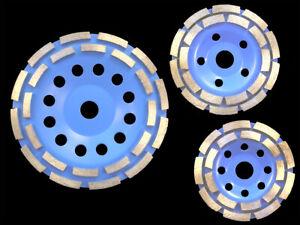 Schleifteller Diamant Schleiftopf Dia Topfscheibe 115 125 150 180 230 mm Beton