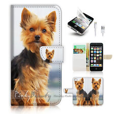 ( For iPhone 5 / 5S / SE ) Wallet Case Cover! P1720 Puppy Dog