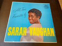 Sarah Vaughan~All Time Favorites~Mercury Jazz Vocal LP~VG+/VG+~FAST SHIPPING