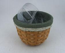 Longaberger 2004 Flora Basket Combo w Double Protector