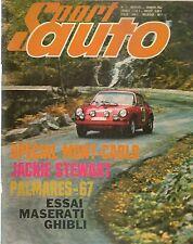 SPORT AUTO 72 1968 MASERATI GHIBLI 4.7 CD proto CRITERIUM DES CEVENNES INDY