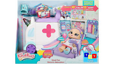 More details for kindi kids hospital corner unicorn ambulance toy playset & shopkins accessories